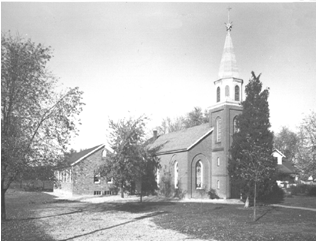 Emmaus Lutheran Church 1947